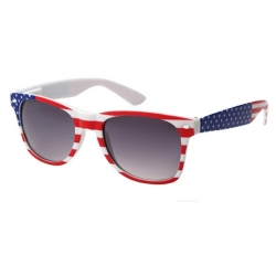 Wayfarer Sunglasses - w1-flag
