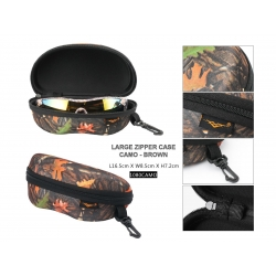Large Camouflage Hard Case with Hook - 1080camo