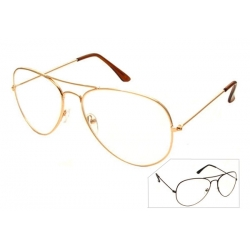 Clear Lens Aviator - 6258cl