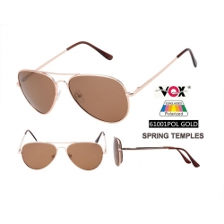 Vox Fashion Polarized Sunglasses - 61001pol-gold