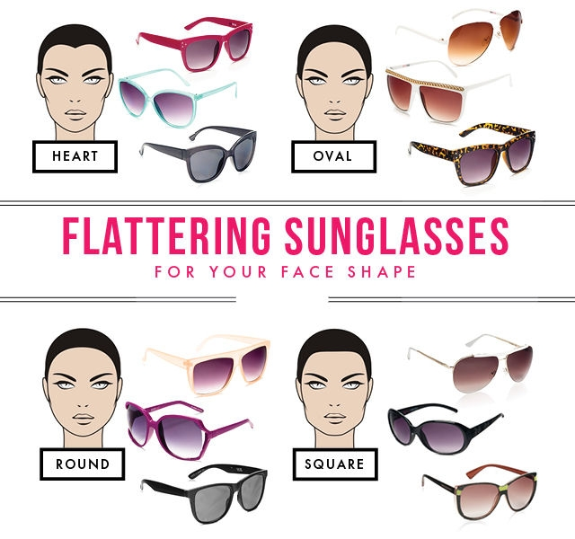 4 Sunglass Styles that Look Great on Any Face Shape
