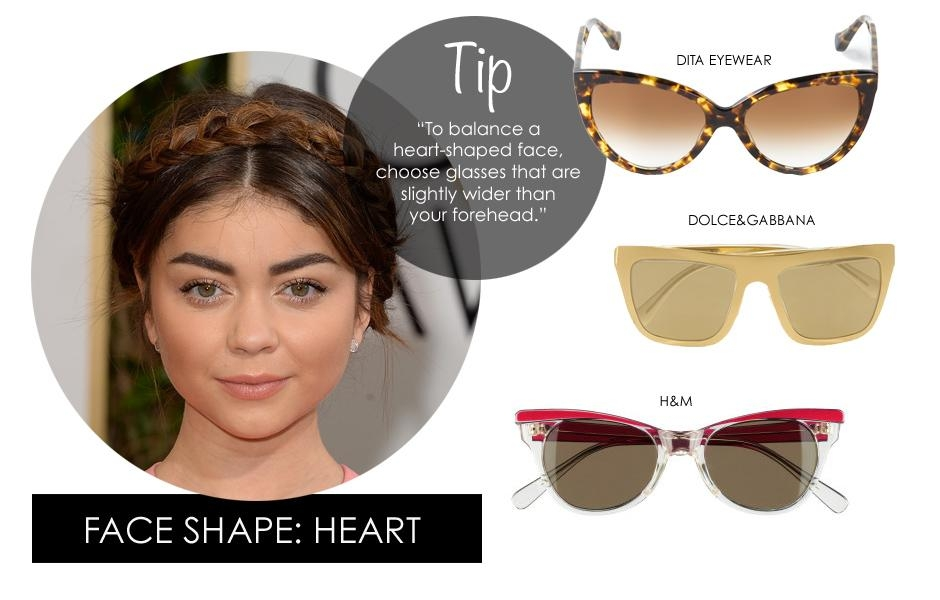 Accentuate Your Heart-Shaped Face With The Right Sunglasses
