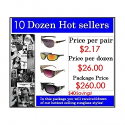 10 Dozen Hot Sellers Package