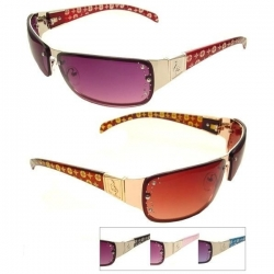 Rhinestone Fashion Sunglasses - 1080