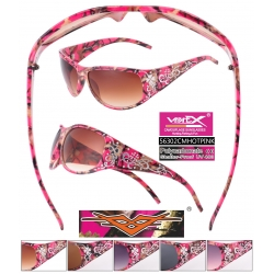 Camouflage Sunglasses - 56302cmhotpink