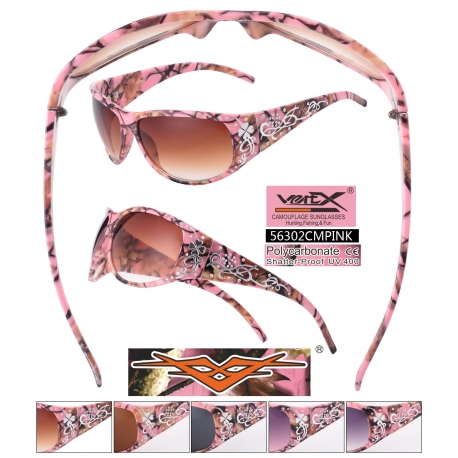 Camouflage Sunglasses - 56302cmpink
