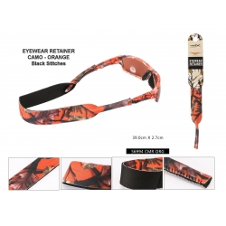 Camouflage Sunglasses Retainer - 56993orange