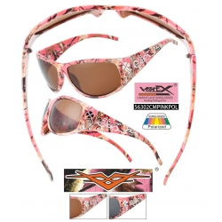Pink Camouflage Polarized Sunglasses - 56302cmpinkpol