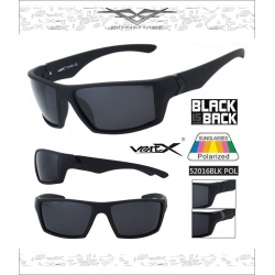 VertX Polrized Sunglasses - 52016pol-blk