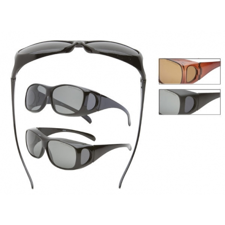 Polarized Fit Over Sunglasses - FO02pol