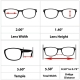 """""""The Intellect"""" Unisex Reading Glasses"""