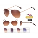 Vox Aviator Sunglasses with Rhinestones - 61064