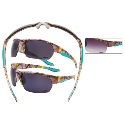 Pink Camouflage Sunglasses - 56313pink