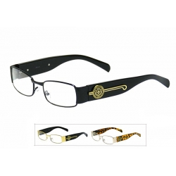 Clear Lens Glasses - 1602cl
