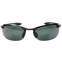 """Dreamin Maui"" Polarized Bifocal Sunglasses - Casual Wear, Semi Frame Reading Sunglasses"