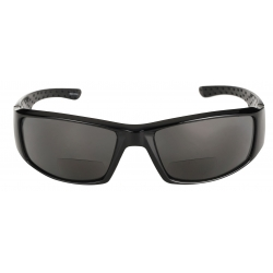 """The Contender"" Polarized Full Frame Sport Wrap Bifocal Sunglasses for Men and Women"