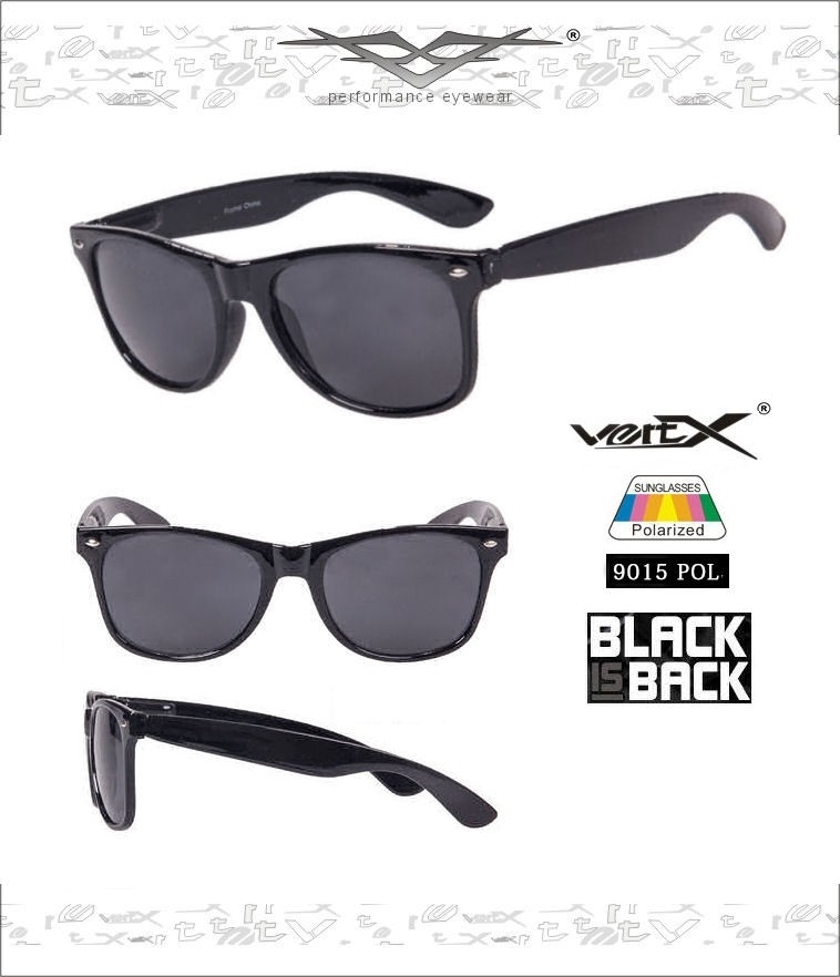 ~ Exclusive Offer ~ Premium Polarized Black Wayfarer Sunglasses * 5 Bonus Items Included! *