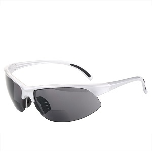 The Illustrious Polarized Bifocal Sport Wrap Sunglasses